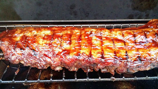 Grilled Kungpao Ribs