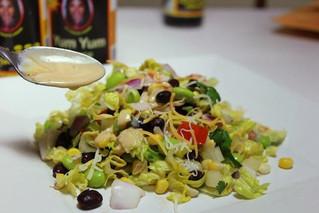 Edamame Black Bean Chopped Salad