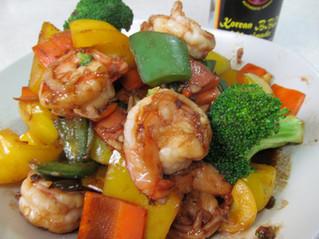 Shrimp Vegetables Stir Fry