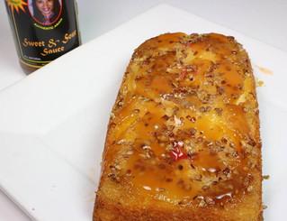 Sweet & Sour Pineapple Upside-Down Cake