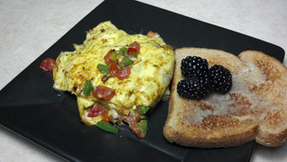 Omelet with an Asian Twist