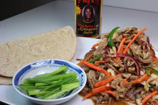 Kungpao Beef Wrap