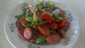 Sausage Stir Fry with Vegetables