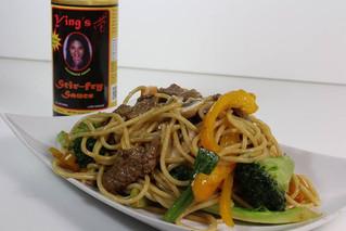 Beef Broccoli Noodles