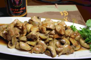 Black Pepper Chicken with Mushroom
