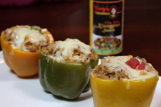 Kungpao Stuffed Bell Pepper