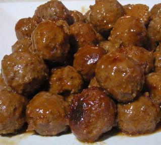 Smoky Zesty Sweet & Sour Meatballs