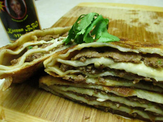 Chinese Multi-Layer Meat Pie