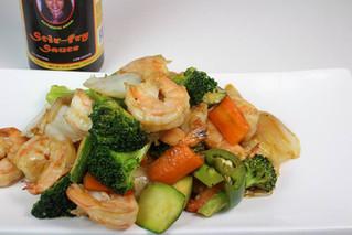 Shrimp with Vegetables Stir Fry
