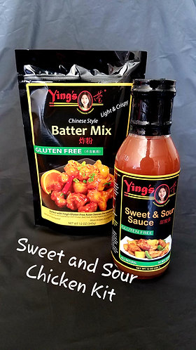 Sweet & Sour Chicken Kit - Gluten Free