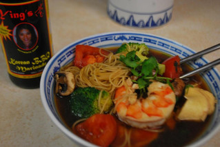 Ying's Korean BBQ Noodle Soup
