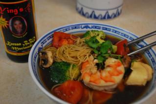 Ying's Korean BBQ Noodle Soup