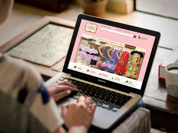 Site e-commerce Recanto da Costura