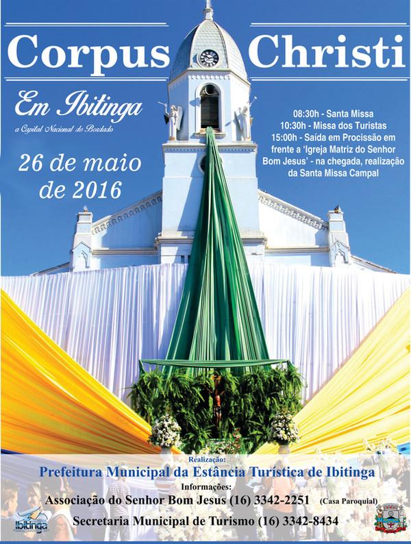 Corpus Christi Ibitinga { 2016 }