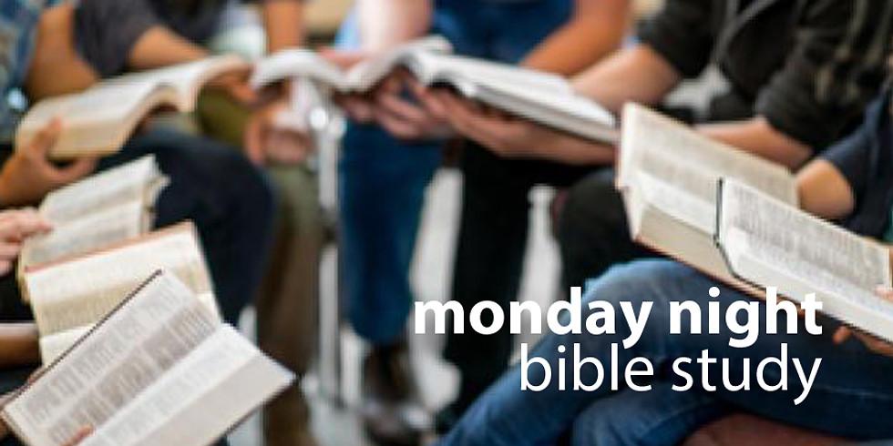 Monday Night Bible Study Restart