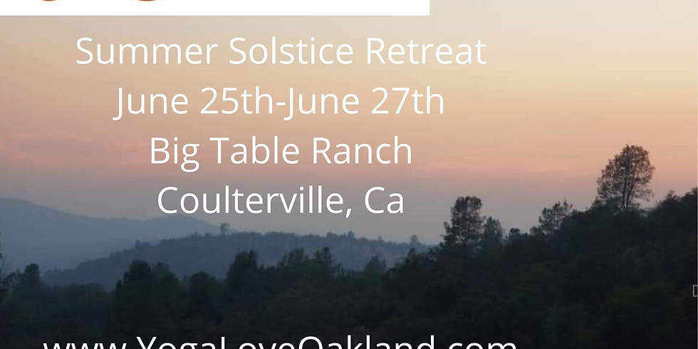 YogaLove Summer Camp for Adults - Summer Solstice Retreat