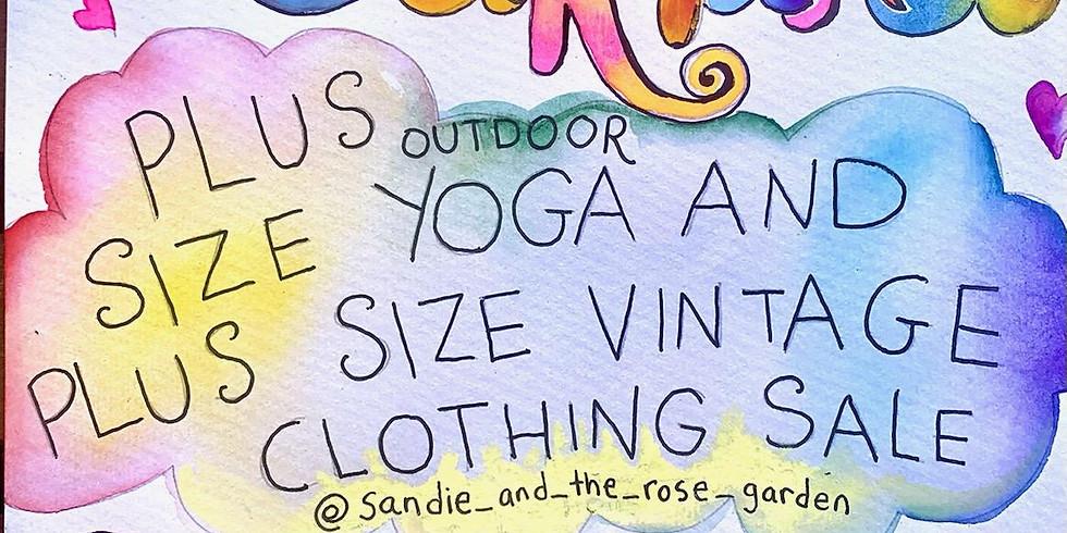 Plus Size Yoga and Plus Size Vintage Clothing Sale