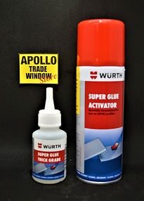 Wurth High Density Super Glue and Activa