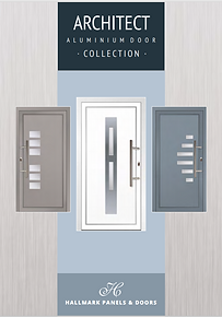 Hallmark Aluminium Door Collection Archtect Brochure