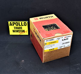WURTH screws 4.0 x 25 wupofast art 0186 4 25