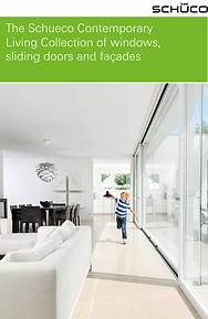 The SCHUCO Contemporary Living Collection of Windows, Sliding Doors, and Facades
