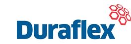 Duraflex upvc flush casement windows logo