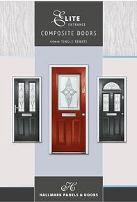 Hallmark Composite Doors Elite Entrance Collection 44mm single rebate