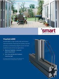 SMART Aluminium Slide and Fold Doors Visofold 6000 Brochure