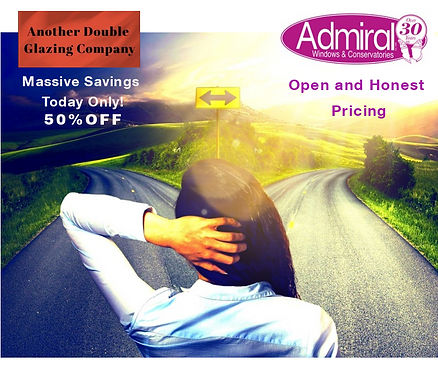 Admiral Window Oxford provide open and honest pricing
