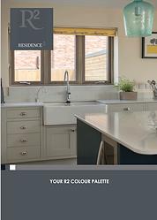 Residence 2 R2 uPVC Flush Casement Windows Colour Palette Brochure