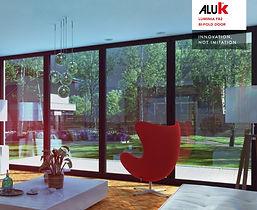 ALUK Aluminium Bi-Folding Doors Luminia F82 Brochure
