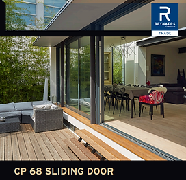 Reynaers Aluminium Patio Sliding Doors CP 68 Sliding Doors Trade Brochure