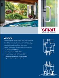SMART Aluminium Bi-Folding Doors 1000 2000 3000 4000 Series Brochure