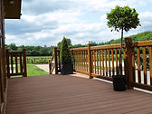 wood plastic composite deck boards insta