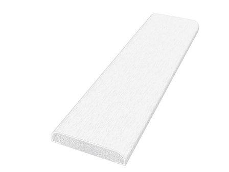 D Section FD28 Woodgrain White