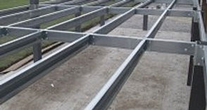 Steel metal galvanised subframe