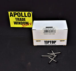 TIPTOP 30mm pins black TT30BK