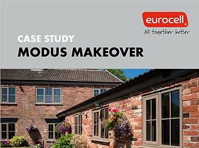 Eurocell Modus Flus Sash Windows Case Study Brochure