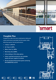 SMART Aluminium Sliding Patio Doors Visoglide Plus Series Brochure