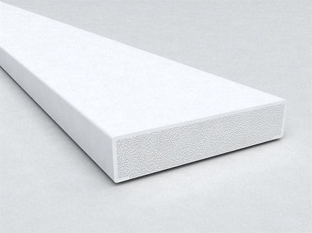 FB28 B Section Window Trim White