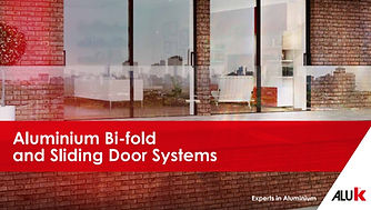 ALUK Aluminium Bi-Fold and Sliding Door Systems Brochure