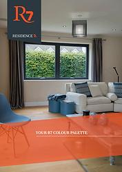 Residence 7 uPVC Flush Casement Windows Colour Palette Brochure