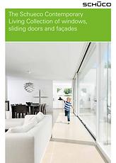 The Schuco Contemporary Living Collection of Aluminium Windows, Sliding Doors and Facades Brochure