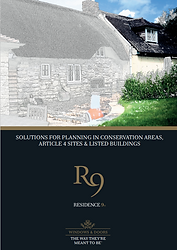 R9 Solutions for Planning in Conservation Areas, Article 4 Sites and Listed Buildings Brochure