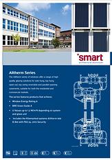 Alitherm Series of Windows Smart Architerctural Aluminium Brochure