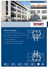 Alitherm Heritage Window Systems Smart Archtectural Aluminium Brochure