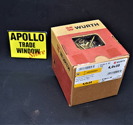 WURTH screws 4,0 x 35 wupofast art 0186 4 35