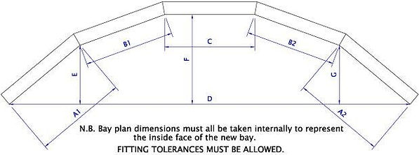 Surveying and Measuring Guide Bay Window