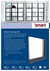 Alitherm Heritage HD Smart Arciterctural Aluminium Brochure