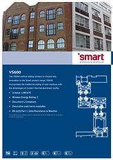 Aluminium Sliding Windows VS600 Smart Architectural Aluminium Systems Brochure